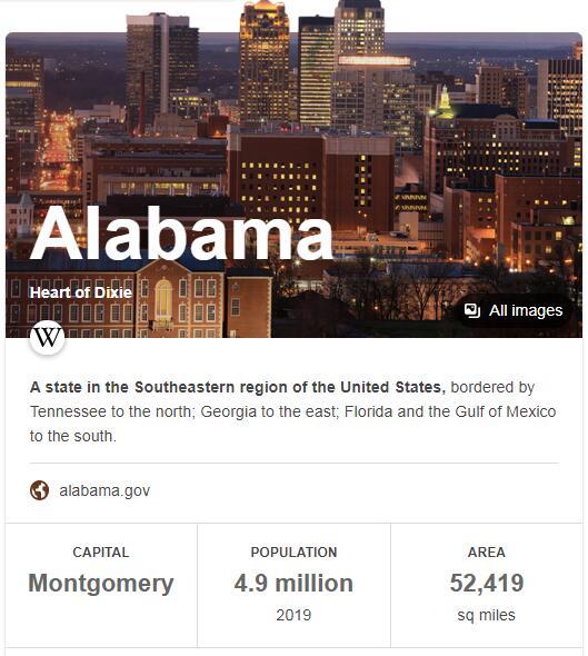 Alabama Population