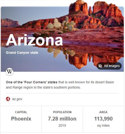 Arizona Population