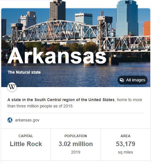Arkansas Population
