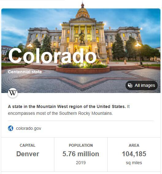 Colorado Population