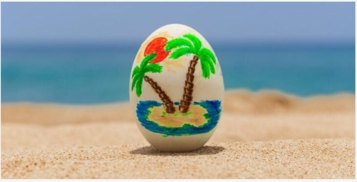 Easter holiday in Asia