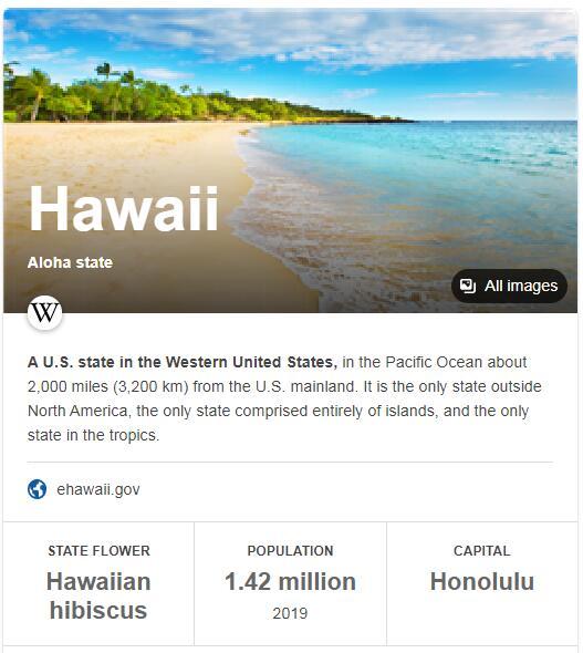 Hawaii Population