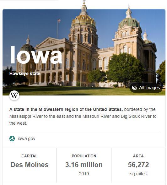 Iowa Population