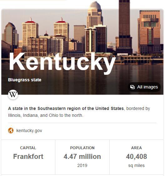 Kentucky Population