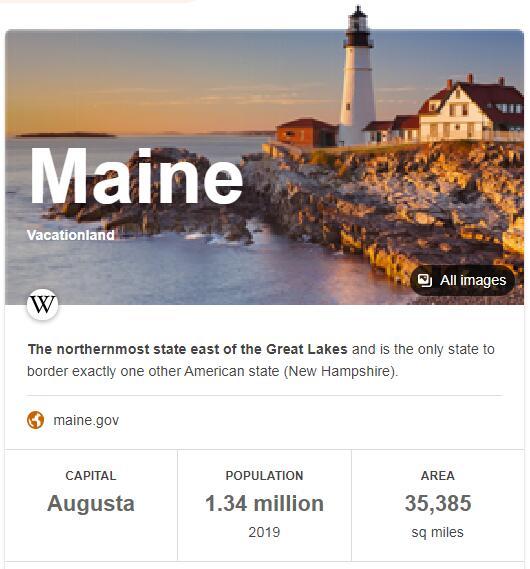 Maine Population