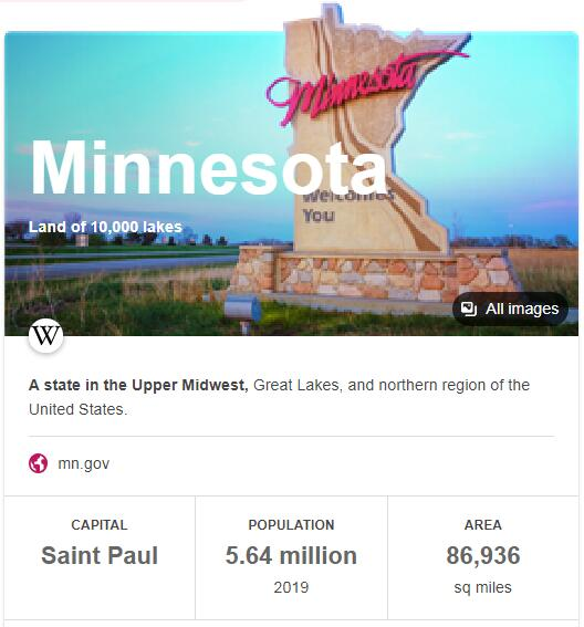 Minnesota Population