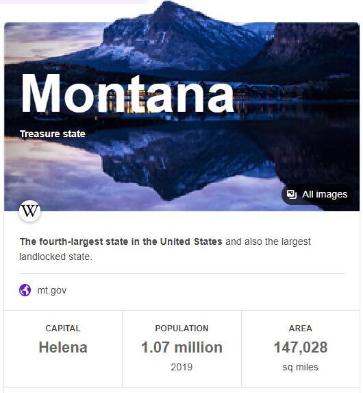 Montana Population