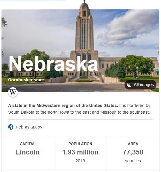 Nebraska Population