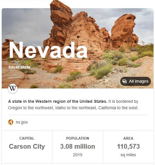 Nevada Population