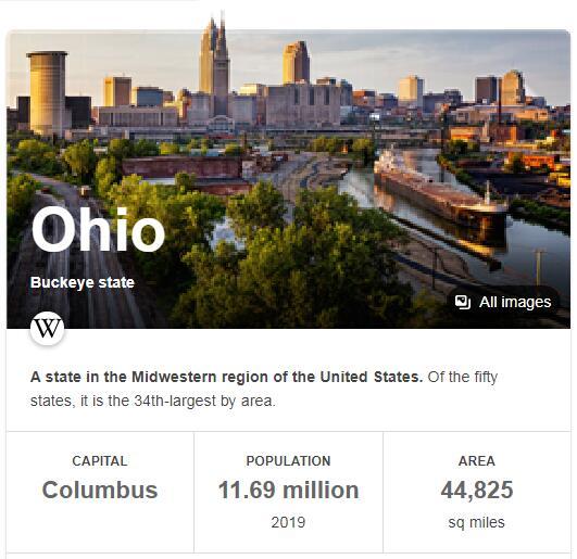 Ohio Population