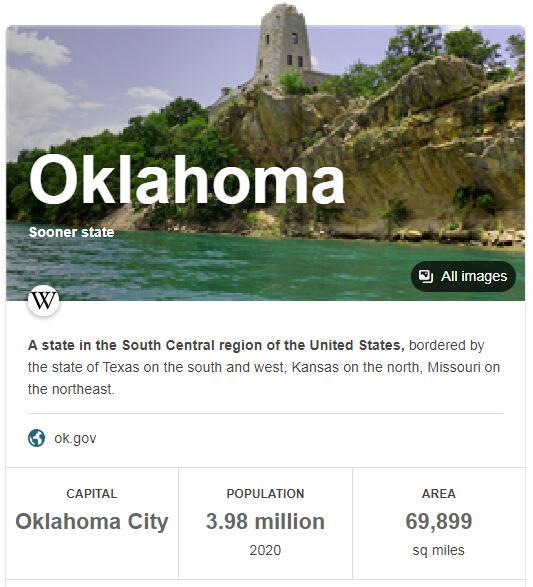 Oklahoma Population