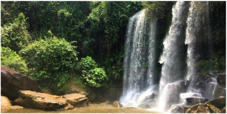 Spiritual excursion to Phnom Kulen National Park