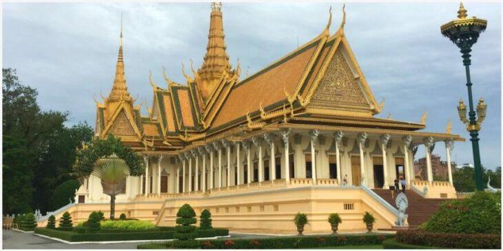 The capital of Phnom Penh