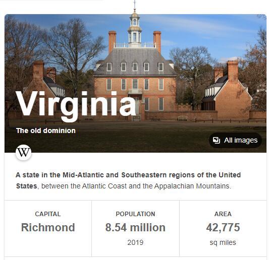 Virginia Population