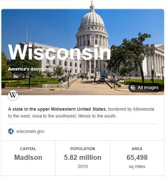 Wisconsin Population