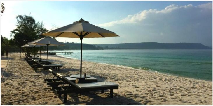 beach of Koh Rong